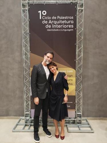 Presidente Daniel Mangabeira e Gabriela Müller